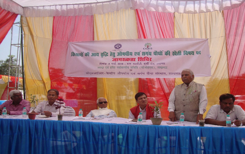 Farmers Get-together at Tirath Ram Farm House, Kursi Road, Lucknow March 6, 2016
